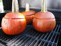 and sour grilled pumpkin recipe pinch my salt sweet and sour grilled ...