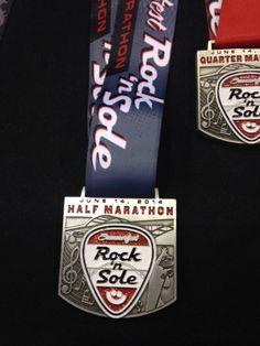2014 Summerfest Rock 'n' Sole Half Marathon Race Recap #racerecap #halfmarathon #running