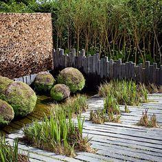 Une terrasse en bois esprit zen