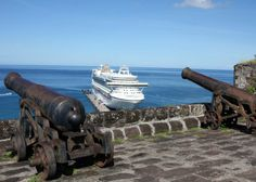 Fort George, Grenada. #Caribbean Grenada Caribbean, Southern Caribbean, Grenada Island, Underwater Sculpture, Cinque Terre Italy, Back In Time, Small Island, White Sand Beach, West Indies