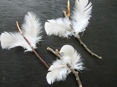 Engelsflügel basteln- traditionelle Weihnachtssymbole und mehr