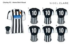 Chorley FC Home kit 2014/15