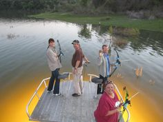 Its a family thing Bowfishing, Central Texas, Places, Lugares
