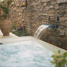 hot tub.  Need one of these!