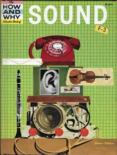 Vintage Mid Century Children's Book - The How And Why Wonder Book of Sound by 20thCenturyCool on Etsy