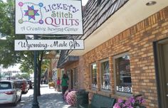 This Enormous Quilt Store In Wyoming, Lickety Stitch, Has Everything You Could Possibly Need Wyoming Vacation, Nancy Smith, Everything, Craft Projects, Quilts, Stitch, Quilt Shops, Store, Google Search
