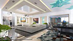 MODERN #LIVINGROOM #INTERIORDESIGN  #3DRENDER VIEW BY www.hs3dindia.com @nirlepkaur_id