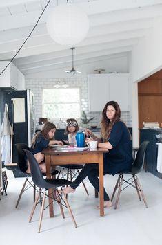 Kendra Smoot's Bay Area home via Mother Mag