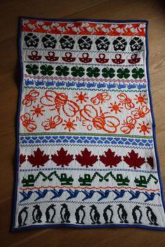 Ravelry: 24sam's Fair Isle Baby Blanket