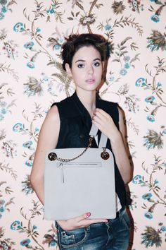 FIRSTOFTULLA Nell leather bag