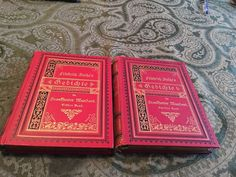Gedichte Friedrich Stolke's  Poems Red 2  Volume Set 1908  | eBay