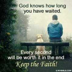 """""""Biblically, waiting is not just something we have to do until we get what we want. WAITING IS PART OF THE PROCESS OF BECOMING WHAT GOD WANTS US TO BE."""" ~ John Ortberg"""