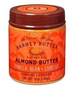 this Espresso & Vanilla Almond Butter - Set of Three by Barney Butter ...