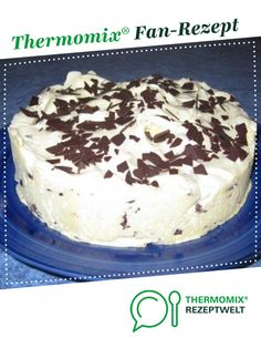 Ein Thermomix ® Rezept aus der Kategorie Backen… Ice cream cake Ruck Zuck from Sharony. A Thermomix ® recipe from the Baking Sweet category www.de, the Thermomix® Community. Thermomix Desserts, Cake Toppings, Cream Cake, Ice Cream, Food Cakes, How To Cook Pasta, Pie Recipes, No Bake Cake, Vanilla Cake