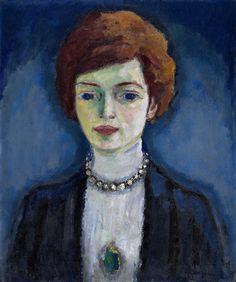 Kees van Dongen, Portrait madame Claudine Voirol (1911), olieverf op doek. Troyes, musée d'Art moderne, collections nationales Pierre et Denise Lévy.