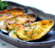 Mussels with Cheese Recipe