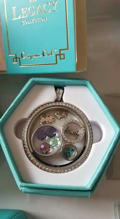 The LEGACY locket is HUGE! You can get sooo creative with this and tell your story!! #charms #swarovski #lockets #classic #traditional   Click on photo to see more products