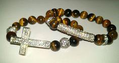 N'Genious Creations - GEMSTONE 2PC BRACELET SET IN SILVER TONE (VARIOUS GEMSTONES), $35.00 (http://www.ngeniouscreations.com/gemstone-2pc-bracelet-set-in-silver-tone-various-gemstones/)