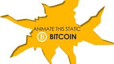 Bitcoin logo animation / Animate this static!