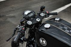 Batten Down - Kawasaki ER6N Cafe Racer ~ Return of the Cafe Racers