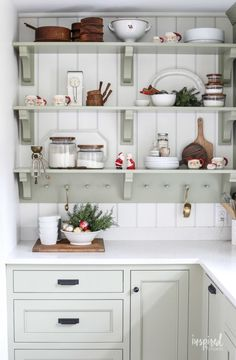 Tour my Bayberry Kitchen Remodel Reveal. A traditional kitchen with touches of vintage and modern details. Custom cabintey and highend applaicnes. Fall Kitchen Decor, Christmas Kitchen, Christmas Home, Kitchen Ideas, White Christmas, Christmas 2019, Christmas Ideas, Country Christmas, Kitchen Colors