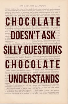 Chocolate truth #TheLazyHostess