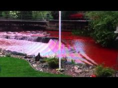 "River Turns ""Blood Red"" In Switzerland (Apocalyptic Signs) (+playlist) Angel Clouds, Sky And Clouds, Blood Red Moon, Angels Blood, Revelation Bible, End Times News, End Times Signs, New Gods, End Of Days"