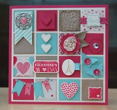 Julie's Japes - An Independent Stampin' Up! Demonstrator in the UK Scrapbooking, Scrapbook Cards, Valentines Frames, Valentine Cards, Scrapbook Examples, Romantic Cards, Candy Cards, Wedding Anniversary Cards, Cool Cards