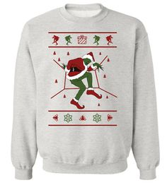 The Grinch who Stole Drake's Hotline Bling Ugly Christmas Sweater. Grinch Christmas, Christmas Jumpers, Christmas Shirts, Christmas Sweaters, Christmas Clothes, Christmas Time, Christmas Hoodie, Family Christmas, Christmas Christmas