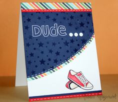 Created by Nichol Magouirk using the Simon Says Stamp May 2014 card kit.  April 2014