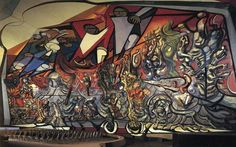 David Siqueiros | The March of Humanity --Mural--alternate view