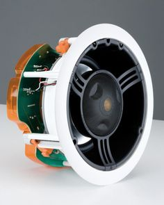 At the heart of the Monitor Audio C265-LCR in-ceiling speaker has a unique Inverted Dual Concentric pivoting mid-range/tweeter module providing up to 18 degrees of play.