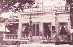 Sinaia - La Confiserie Riegler - 1902 Romania, Old Photos, Louvre, Building, Travel, Dan, Times, Pictures, Houses