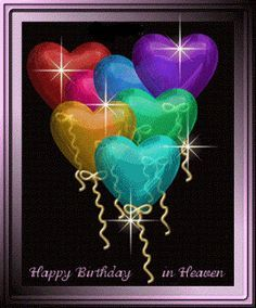 birthday wishes animated cards for decease lost in heaven