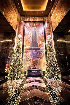 "500px / Photo ""Empire State Lobby""empire state new york by Kavin Kowsari"