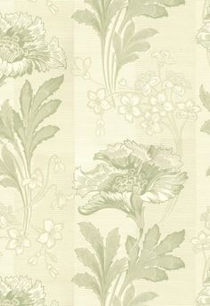K35-56 Solviken wit/groen Farrow Ball, William Morris, Casablanca, Tapestry, Rugs, Wallpaper, Home Decor, Velvet, Pictures