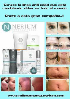 Decide cambiar tu estilo de vida. Nerium International te ofrece esta gran oportunidad. Contáctame: www.milenamunoz.nerium.com