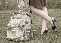 deployment homecoming photo shoot idea