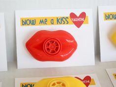 Blow me a kiss valentine
