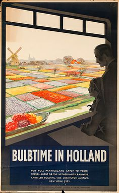 The Netherlands - Bulbtime in Holland - Train window