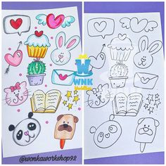 School Notebooks, Bullet Journal Writing, Doodle Lettering, Cute Doodles, Decoration, Art Drawings, Pokemon, Instagram, Illustration