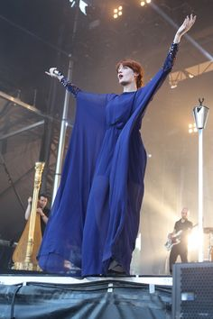 Florence and the Machine Florence Welch, Art Festival, Festival Fashion, Festival Style, Hipster Chic, Florence The Machines, Rocker Style, Just Amazing, Dress To Impress