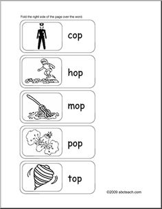 op Word Family Book | Sentences, Making words and Writing practice