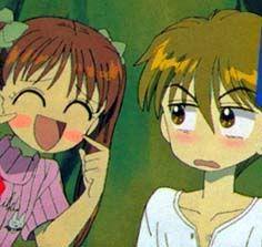 Kodocha - Sana and Akito - Anime I Love Anime, Awesome Anime, Me Me Me Anime, Alice Academy, Kodomo No Omocha, Handsome Kids, Manga Comics, Anime Ships, Shoujo
