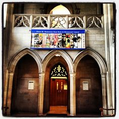Rubenstein Library entrance. #perkinslibrary by DukeUnivLibraries, via Flickr