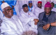 NEWS IN PICTURE: Vice President Osinbajo at the Wedding of Saraki's Daughter Fatia in Abuja