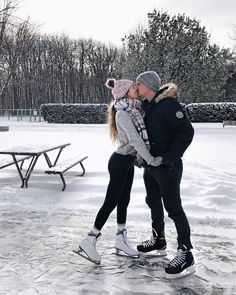Thank you for the kiss! I love the ice skating! I haven't skated in years but I loved learning the tricks. I love you Brian.