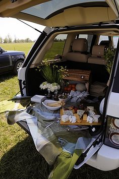Tailgating at Rolex Kentucky Three-day event