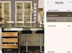 EURO BLUSH This contrary, contemporary palette mingles pale soft pinks with… Shades Of Grey Paint, Beige Paint Colors, Paint Color Palettes, Kitchen Paint Colors, 50 Shades, Trending Paint Colors, White Furniture, Room Paint, Home Renovation