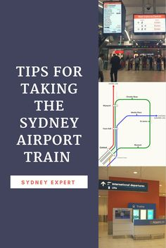 Sydney Airport Train - The quickest way to get to the centre of Sydney city downtown. If you are trying to work out your transport options from Sydney airport to your hotel we have you covered. Visit Australia, Sydney Australia, Western Australia, Australia Travel, Victoria Australia, Solo Travel, Travel Tips, Travel Info, Budget Travel